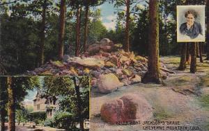 Helen Hunt Jackson's Home & Grave, Cheyenne Mountain, Colorado, 1900-1910s