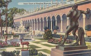 Florida Sarasota Inner Court Of Ringling Museum