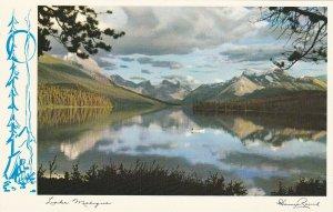JASPER, Alberta, Canada, 1950-1960s; Lake Maligne