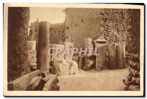 Postcard Old El Kantara Museum ad Calceum Red Village