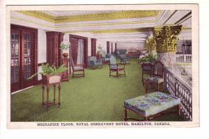 Royal Connaught Hotel, Interior Mezzanine Floor, Hamilton, Ontario