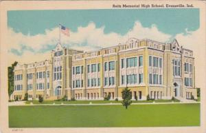 Reitz Memorial High School Evansville Indiana 1949