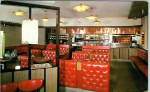 LOS ANGELES, CA  California  ORIGINAL BARBECUE Restaurant  c1950s Roadside