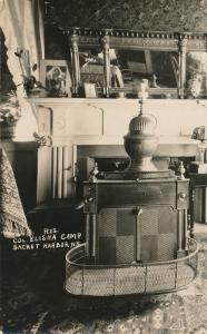 RPPC Interior Historic Elisha Camp House - Sackets Harbor Jefferson County NY