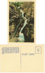 Colorado Springs, CO-Cheyenne Canon Seven Falls