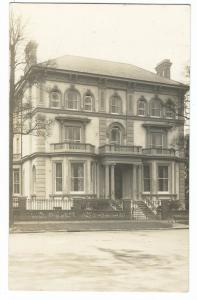 Unidentified Victorian Villa RP PPC, Unposted, Early 20th C