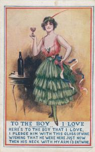 To The Boy I Love, Poem, 1900-10s
