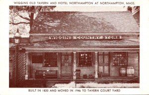 Massachusetts Northampton Wiggins Old Tavern and Hotel