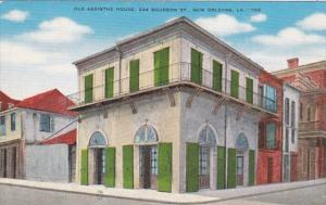 Louisiana New Orleans Old Absinthe House