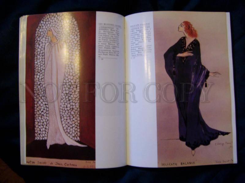 130721 Yves Saint LAURENT & Theatre CATALOGUE EXHIBITION 1989