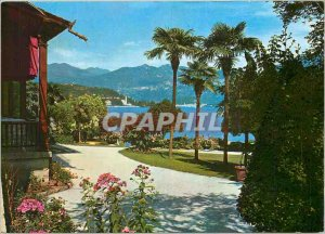 Postcard Modern Hotel Sain Giorgio Lenno (Lake Como