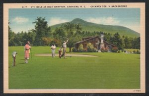North Carolina colour PC 7th Hole High Hampton Cashiers, Shelby, N.C.  unused