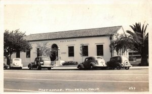 LPS61 Fullerton California Post Office Postcard RPPC