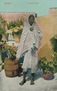 Morocco Tangier A Moorish Girl Ethnic 06.41