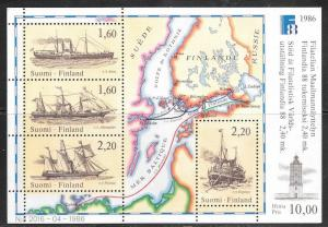 Finland, stamps, Finlandia 1988, unused