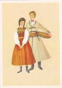 AS: Couple in Polish Costume, Irena Czarnecka, 10-20s