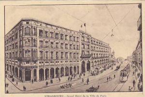 Strasbourg - Grand Hotel de la Ville de Paris, Germany now France, 00-10s