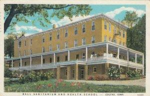 COLFAX , Iowa , 1939 ; Ball Sanitarium & Health School