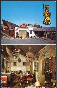 Quebec Coconut Motel rue Notre Dame TROIS-RIVIERS Quest pm1985 Chrome 1950s-1970