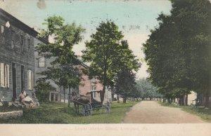 LIVERPOOL , Pennsylvania , PU-1910 ;  Lower Market Street