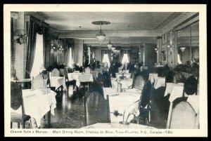 dc1313 - TROIS RIVIERES Quebec Postcard 1930s Chateau de Blois Interior