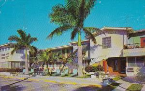 Greetings Hollywood Beach Moon Crest Motel 1968