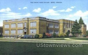 The Union High School Bend OR Unused