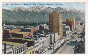 Main Street Salt Lake City Utah