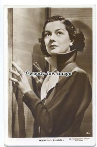 b4309 - Film Actress - Rosalind Russell - postcard