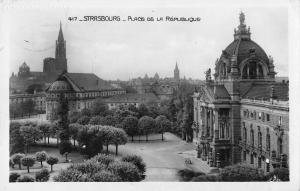 BR71589 strasbourg place de la republique real photo  france