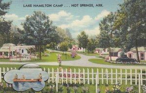 HOT SPRINGS, Arkansas, 1930-40s; Lake Hamilton Camp