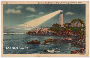 Lighthouse, Casco Bay, Portland ME