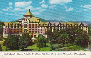 Hotel Roanoke Old English Inn Roanoke Virginia