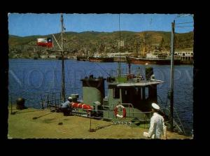 179271 Chile Valparaiso Desde el molo old postcard