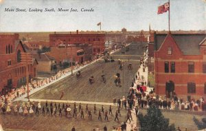 Moose Jaw Saskatchewan Canada south view Main Street antique pc ZD549451