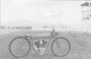 Interesting Harley Davidson  RPPC REPRINT Postcard c1950s 4