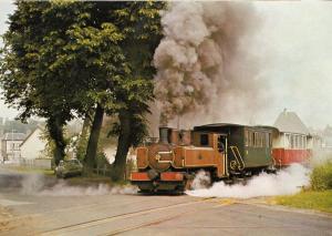 Corpet Louvet Chemin De Fer Baie De Somme French Train Postcard