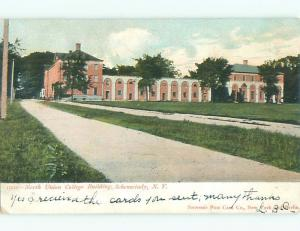 Pre-1907 NORTH UNION COLLEGE Schenectady New York NY n6806