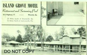 Island Grove Motel, Restaurant, Swimming Pool, Waverly Ga