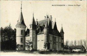 CPA MONTESQUIOU - Chateau du Haget (108150)