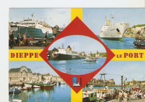 Postal 024100 : Dieppe le Port (Seine-Maritime)