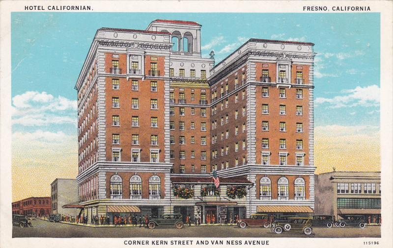 Hotel Californian , FRESNO , California , 00-10s