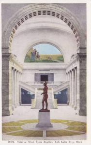 Interior, Utah State Capitol, Dome and Massasoit,  Salt Lake City, Utah,  00-10s