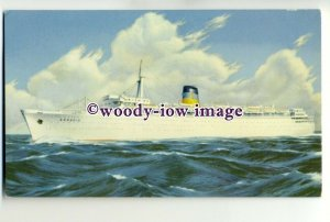 LS0007 - Greek Lines Liner - Arkadia - postcard