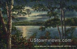 Lake Winnipesaukee, NH, New Hampshire in Lake Winnipesaukee, New Hampshire