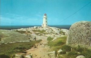 Canada, The Lighthouse, Peggy's Cove, Nova Scotia, unused...