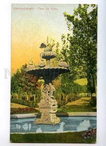 247254 TURKEY CONSTANTINOPLE Parc de Yldiz Vintage postcard