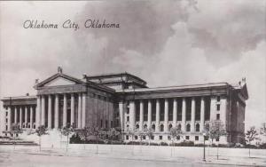 Oklahoma Oklahoma City Court House Real Photo RPPC