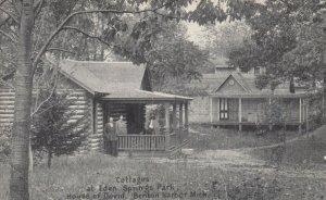 BENTON HARBOR, Michigan; 1920 ; Eden Springs park Cottages