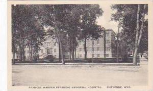 Wyoming Cheyenne Francess Warren Pershing Memorial Hospital Albertype